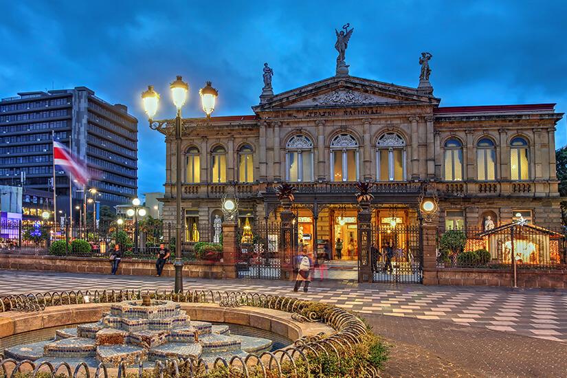 Nationaltheater von Coasta Rica in der Hauptstadt San José