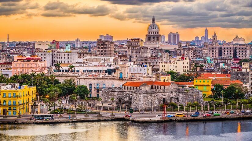 Havana in der Dämmerung
