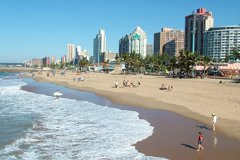 Stadtstrand von Durban