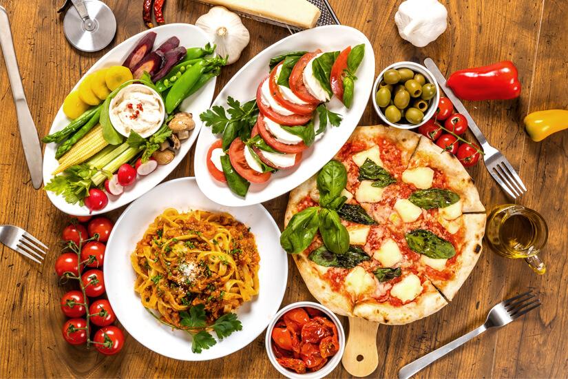 Italienische Köstlichkeiten genießen