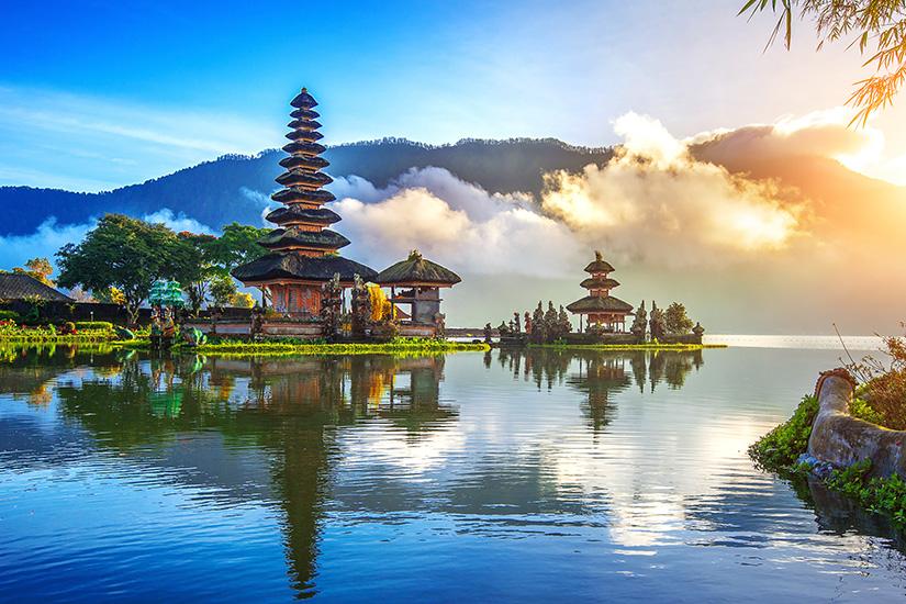 Pura Ulun Danu Bratan Temple auf Bali