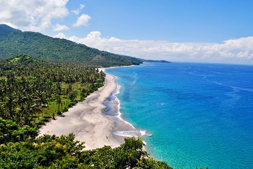 Sengiggi Beach auf Lombok