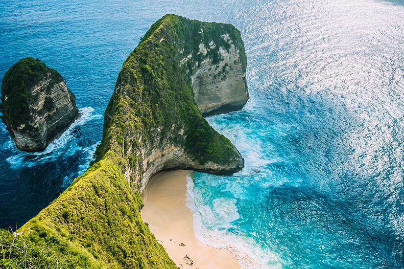 Manta Bay auf Bali, Indonesien