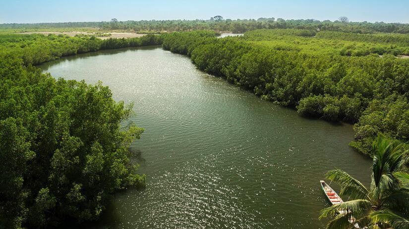 Gambia Fluss