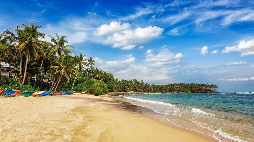Mirissa Beach auf Sri Lanka