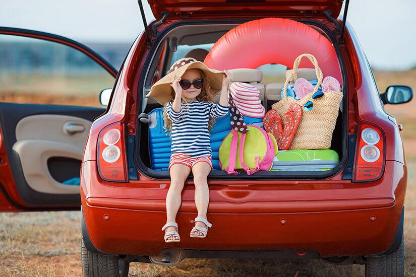 Einfach das Auto vollpacken und losfahren