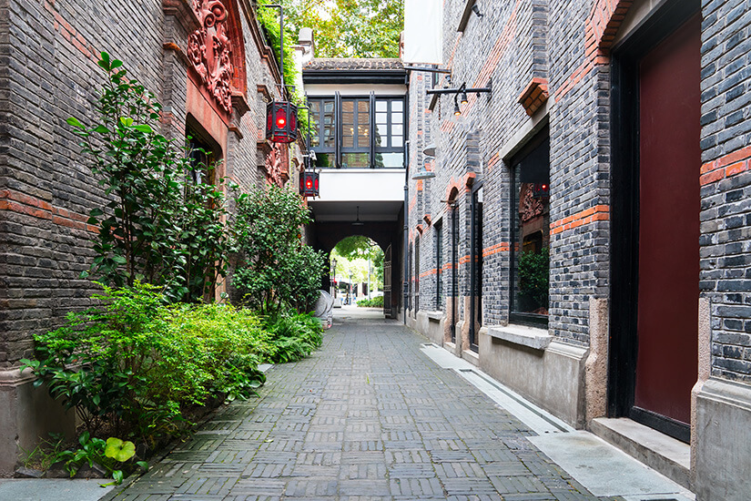 French Concession in Shanghai