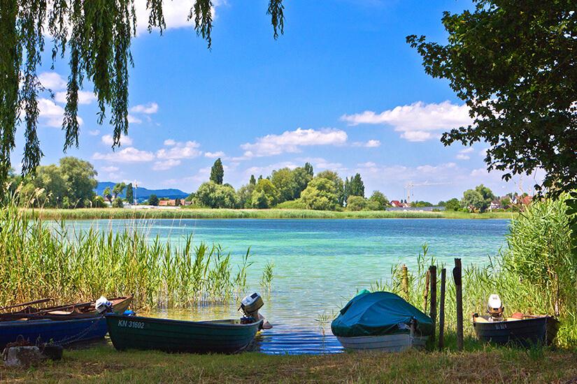 Idylle pur auf der Insel Reichenau