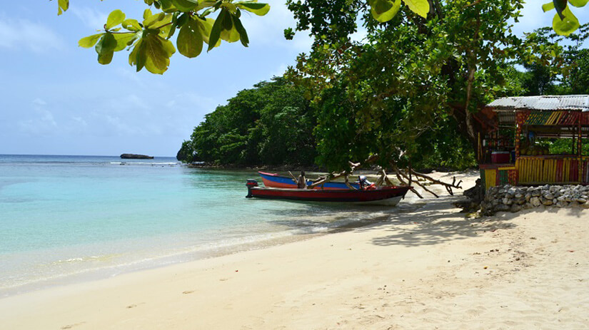 Winnifred Beach auf Jamaika
