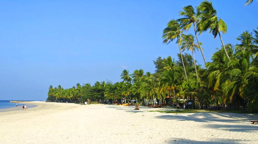 Cenang Beach auf Lankawi Island