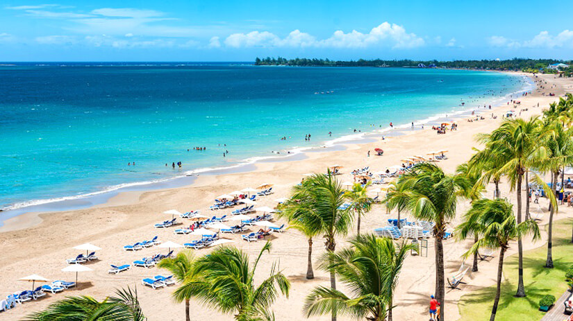 Isla Verde auf Puerto Rico