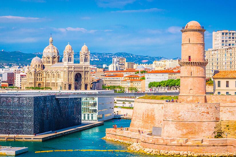 Saint Jean und der alte Hafen in Marseille