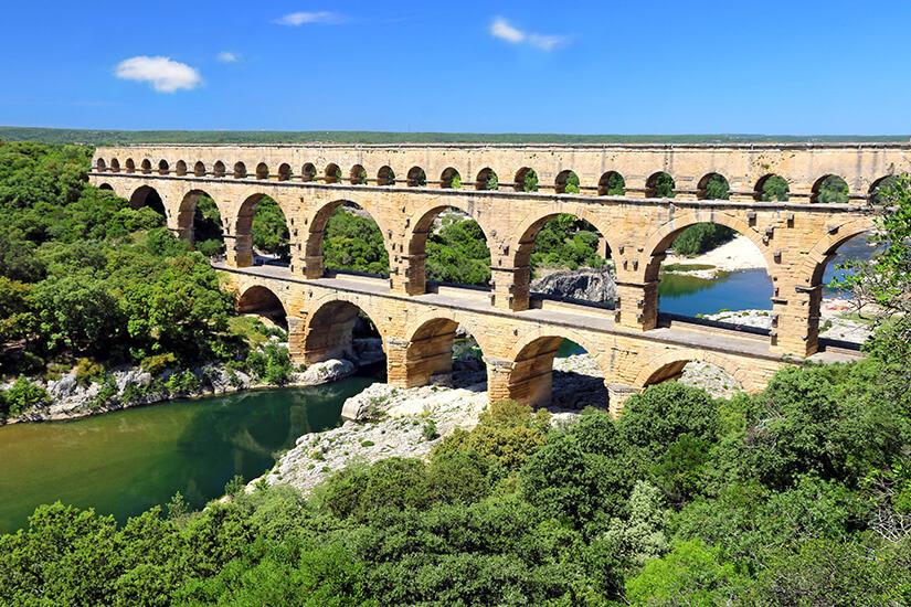 Aquädukt Pont du Gard