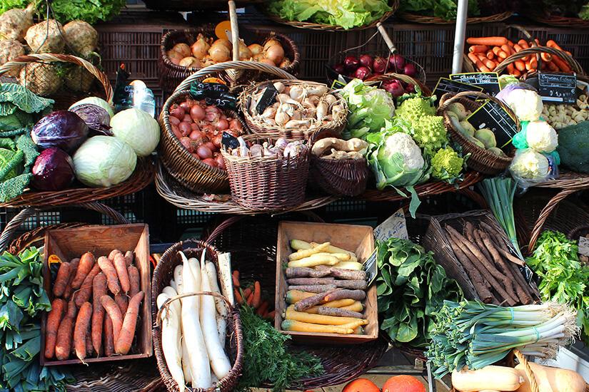 Frisches Gemüse aus der Provence