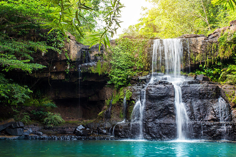 Wasserfall auf Koh Kood