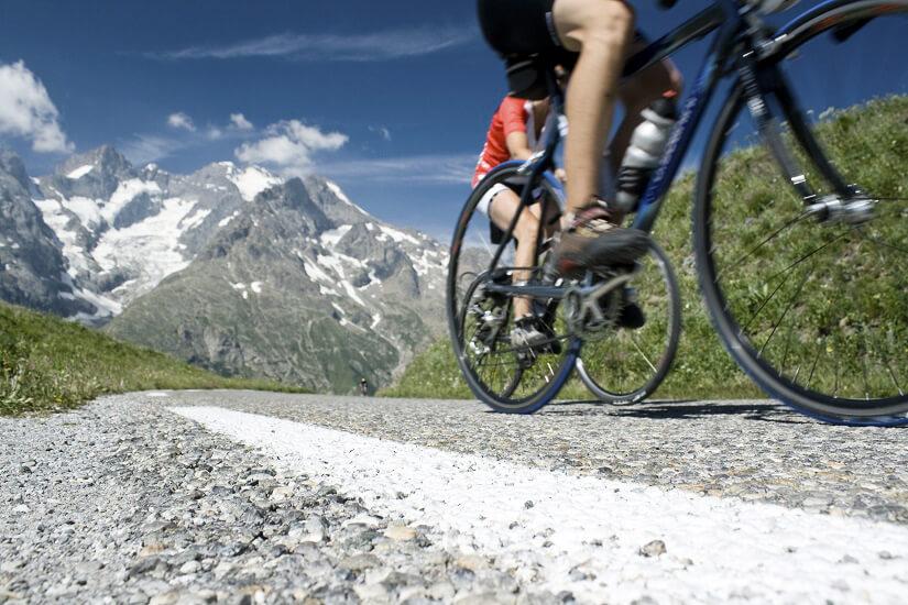 Mit dem Rad durch die Französischen Alpen