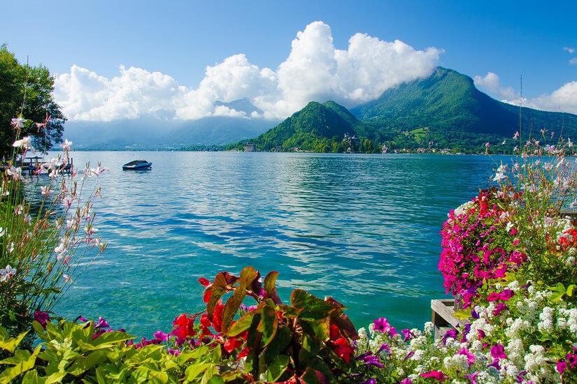 Der Lac d'Annecy