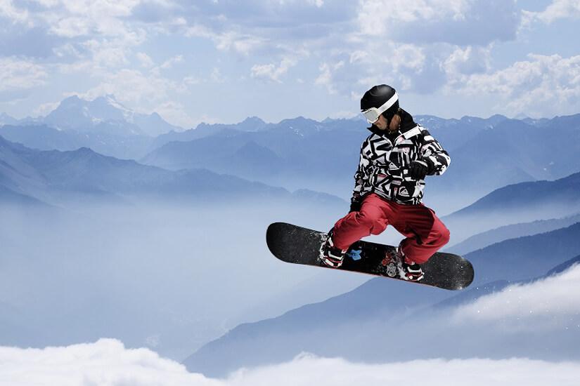 Les Deux Alpes ist snowboardfreundlich