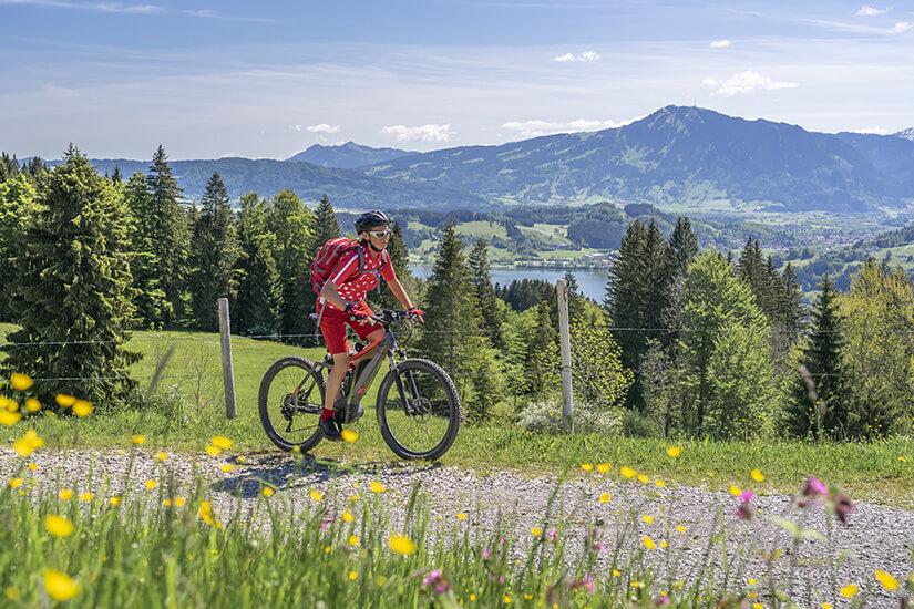 Mountainbiking bei Immenstadt