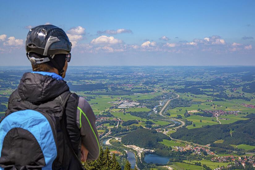 Paraglider am Mittagberg