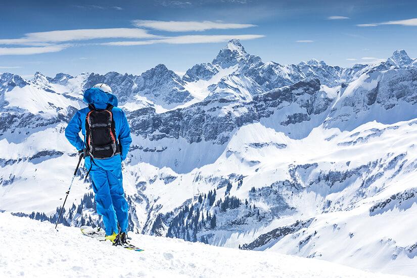 Skifahren in den Allgäuer Alpen