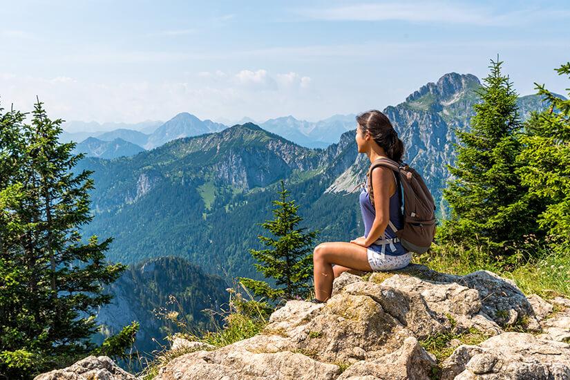 Tegelberg in den Allgäuer Alpen