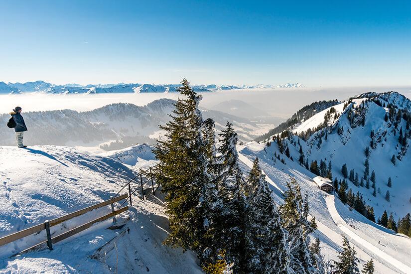 Schneeschuhwandern am Hochgrat