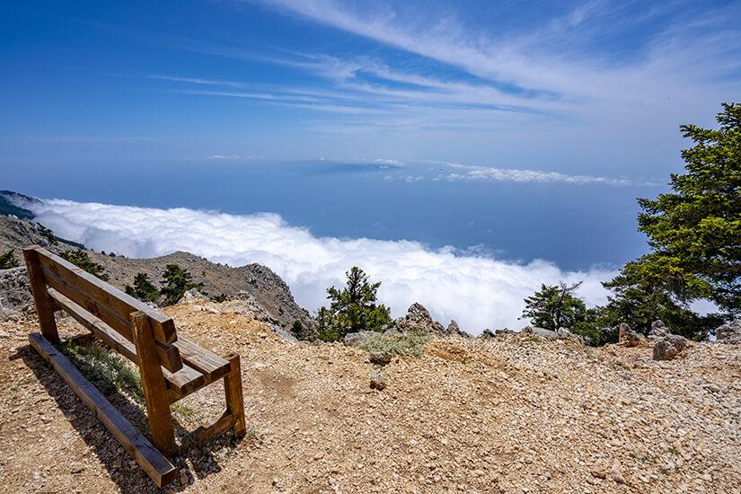 Blick vom Berg Ainos
