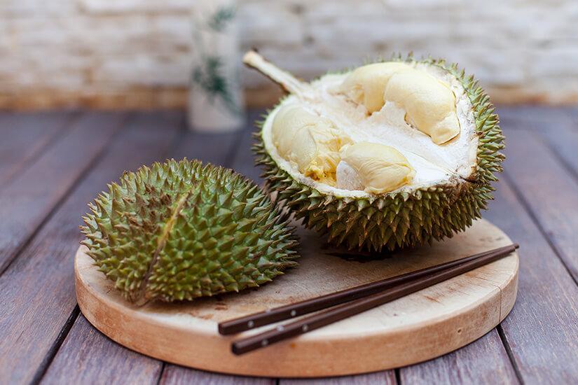 Durian, auch als Stinkefrucht bekannt