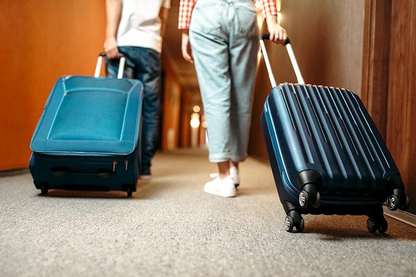 Euer Gepäck könnt ihr sicher wegschließen