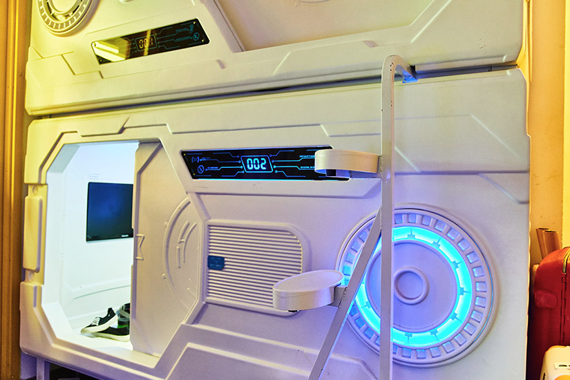 Übernachten wie im Ufo - zum Beispiel in Singapur