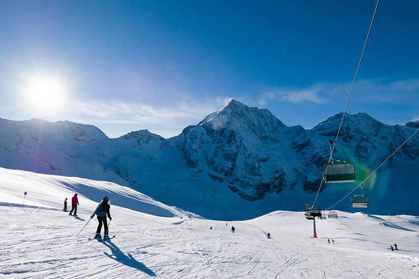 Skiresort Solda in Sulden