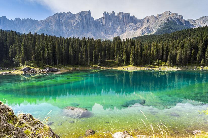 Traumhafter Blick auf die Dolomiten