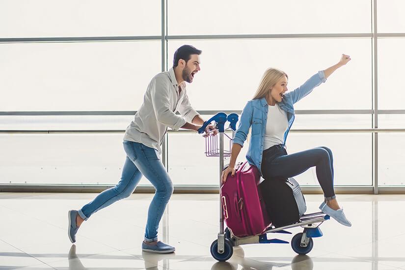 Je zufriedener, umso toller wird euer Urlaubsbeginn!