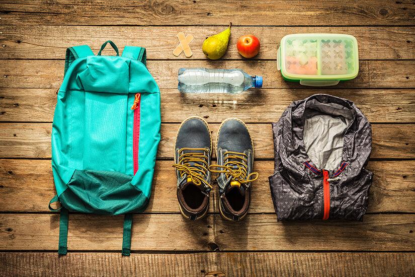 Sportsachen zum Einpacken