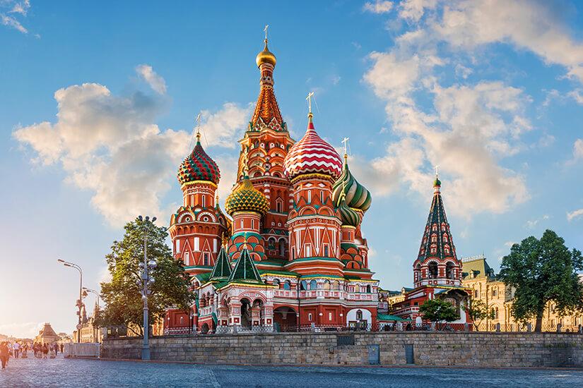 Reiseziel Moskau - Visum benötigt