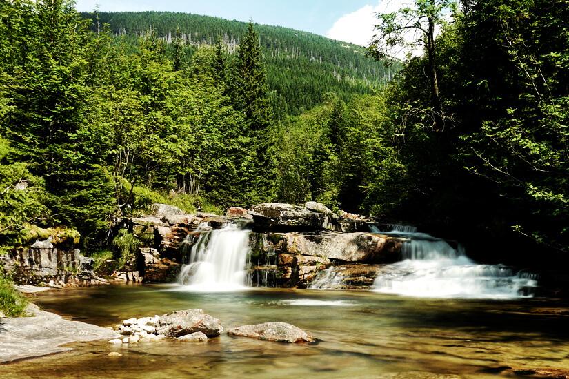 Wasserfall im Riesengebirge