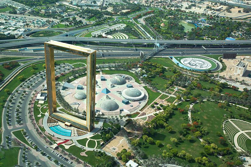 Der beeindruckende Dubai Frame