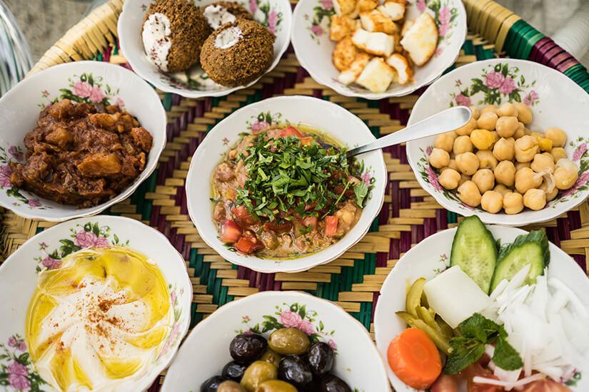 Arabische Köstlichkeiten genießen