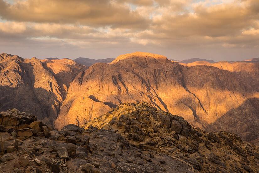 Unterwegs auf dem Sinai Berg