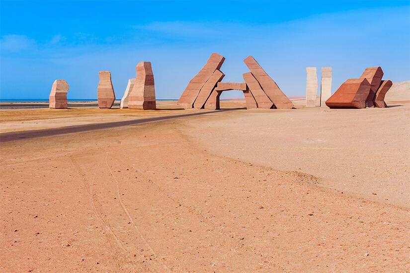 Der Eingang zum Ras Mohammed Nationalpark