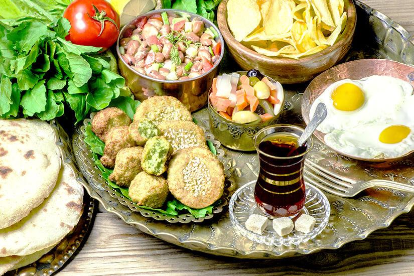 Wie wäre es mit einem ägyptischen Frühstück?