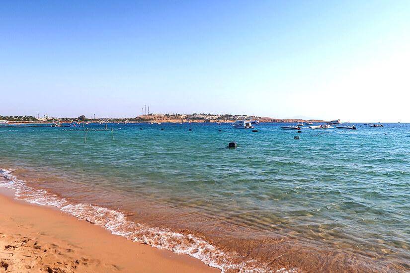 Vom Hotel direkt zum Strand