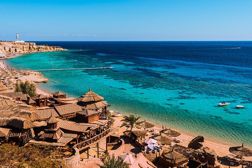 Traumhafte Strände in Sharm el Sheikh