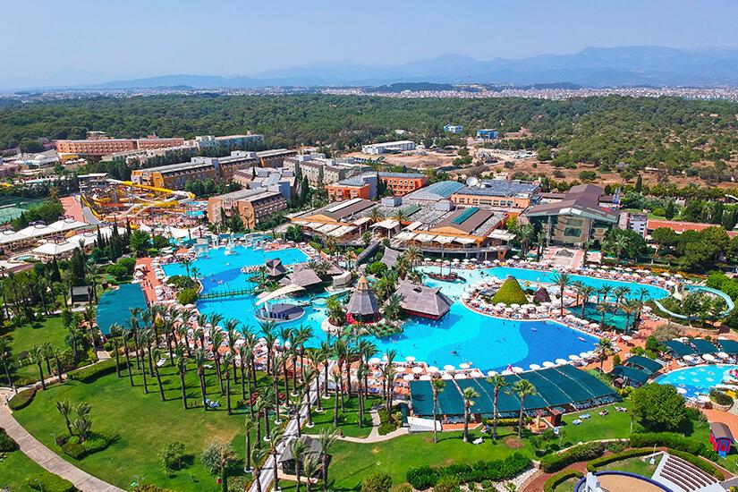 Hotelanlage an der Türkischen Riviera