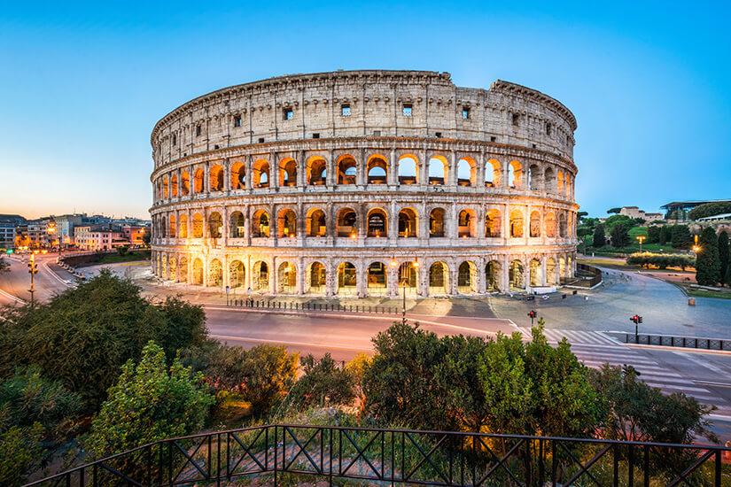 Das Kolosseum erstrahlt in voller Schönheit