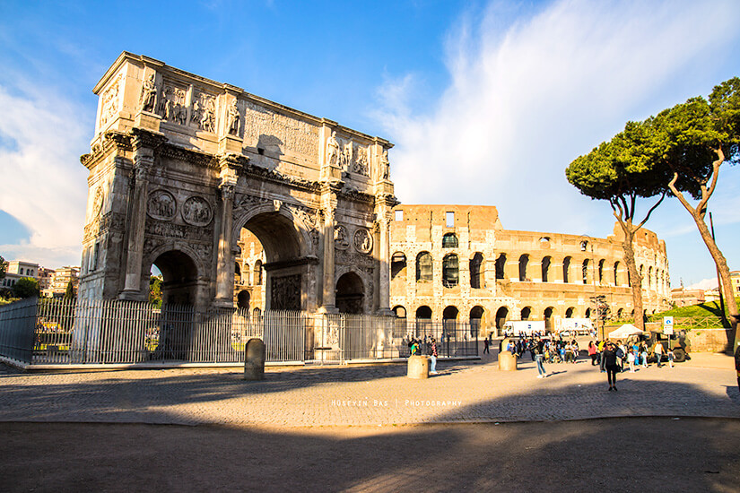 Bestaunt das beeindruckende Kolosseum