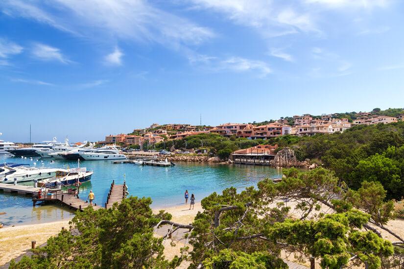 Jachthafen in Porto Cervo