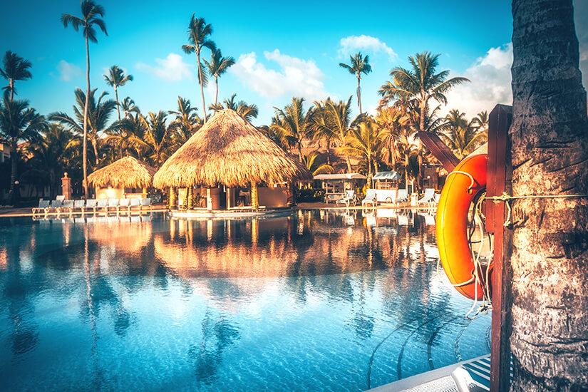 Resort mit Swimming Pool in Punta Cana