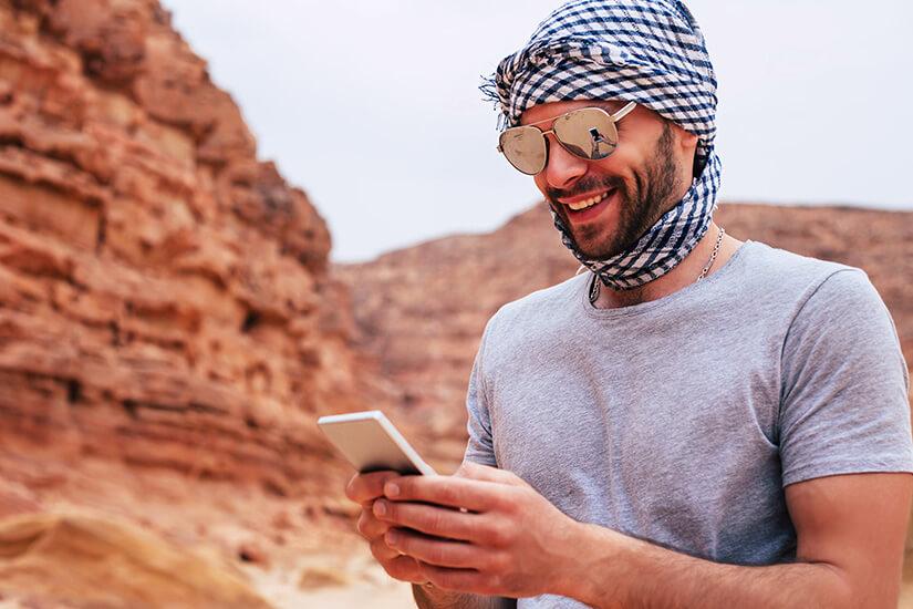 Jordan Pass mobil nutzen